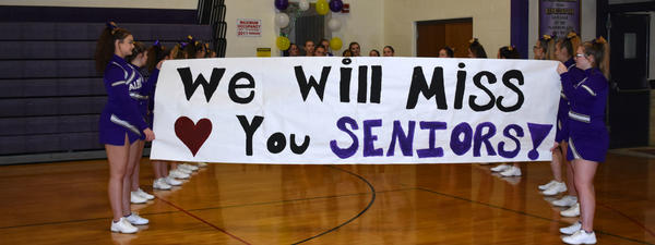 We will miss our seniors