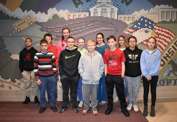 February PE Students of the Month