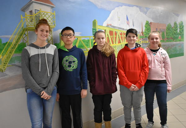 February Students of the Month