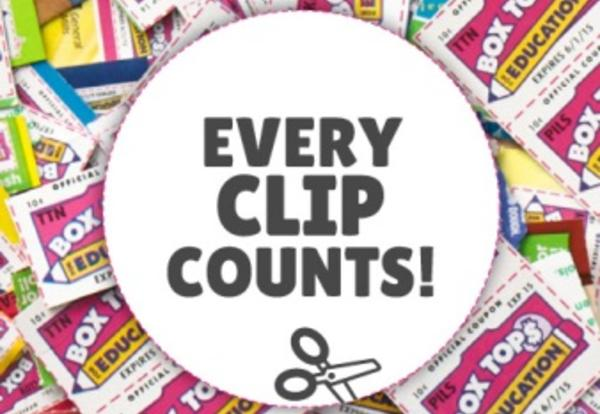 Student Council Collects Box Tops For Education