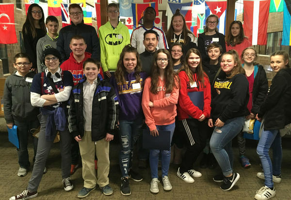 Students Attend GCC Youth Conference