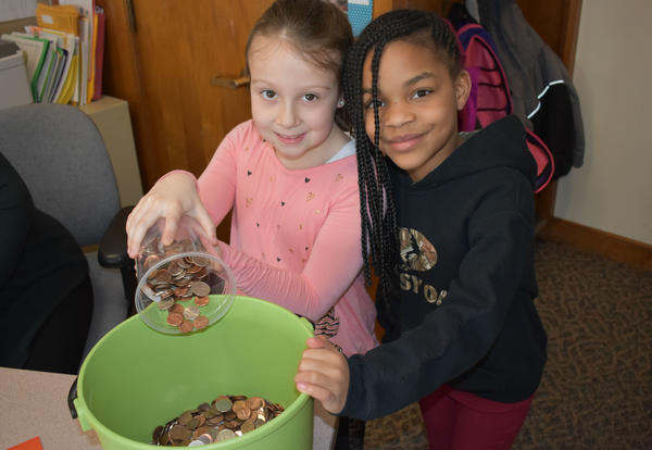 Students Collect Pennies for Patients