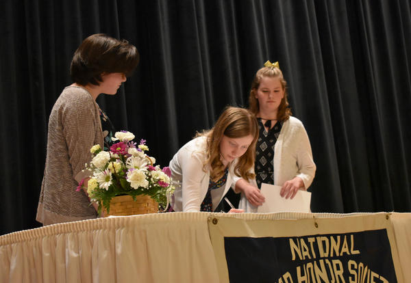 National Junior Honor Society Induction Ceremony