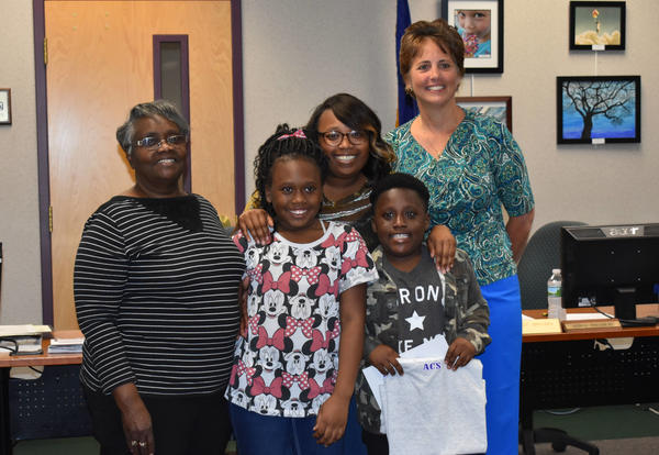 Board of Education Awards Student for Leadership Qualities