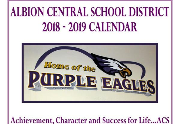 2018-2019 District Academic Calendar is Online