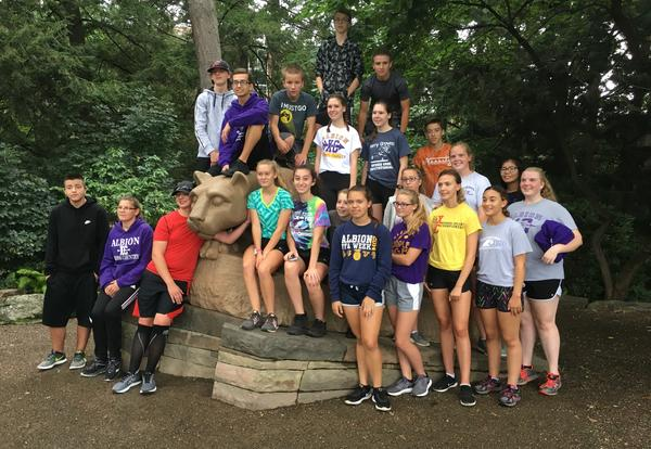 Cross Country Team Participates at Penn State