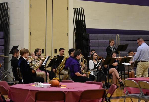 Four Albion Instrumentalists Selected for RWC Honors Band