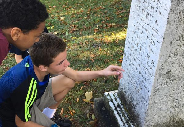 Mount Albion Cemetery Stone