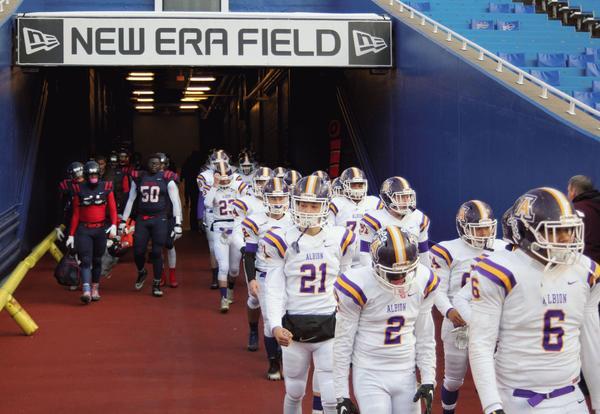 Team enters New Era Field