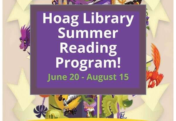 Hoag Library Invites You to a Summer Reading Program