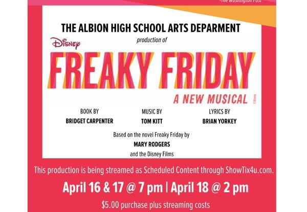 Freaky Friday show poster