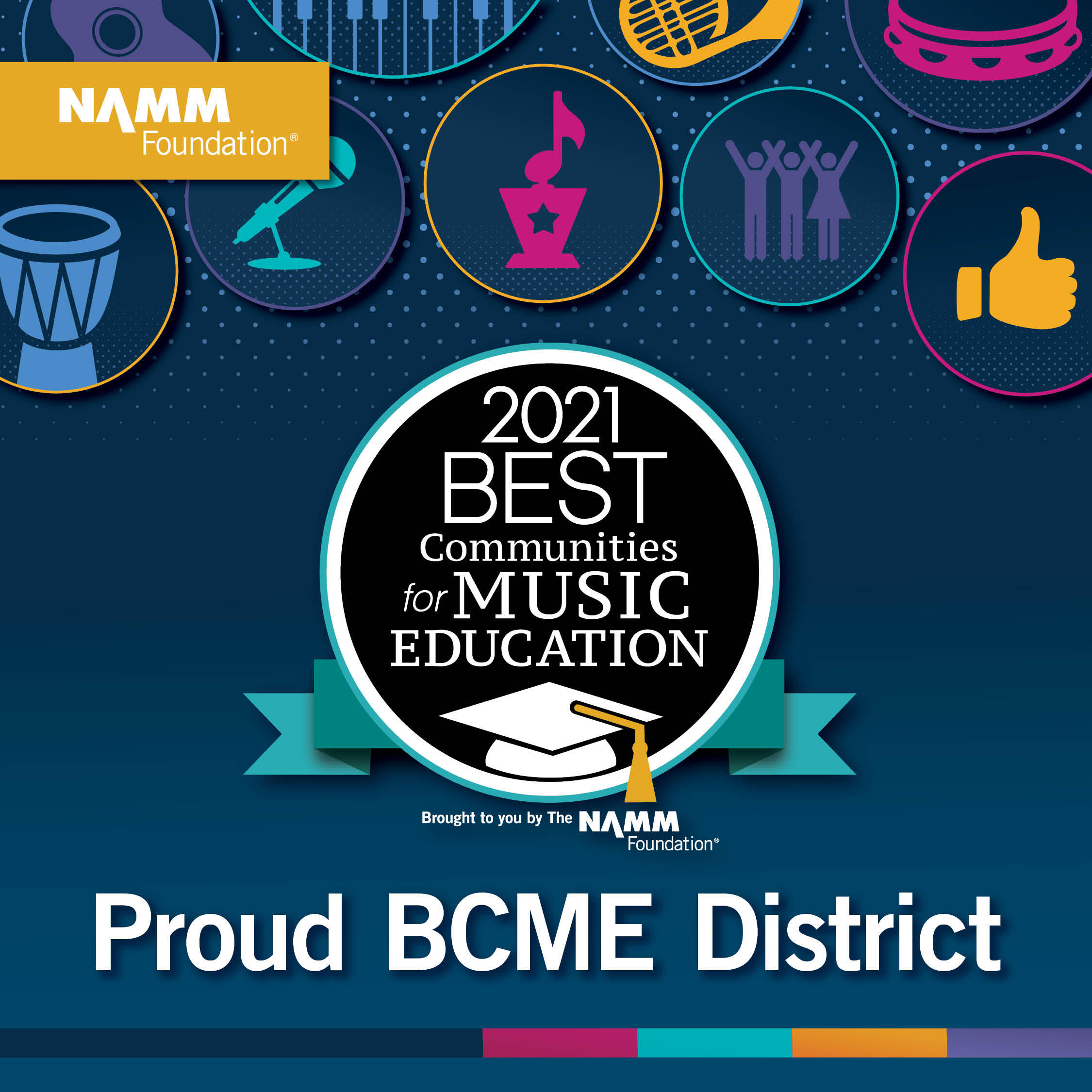 NAMM Best Communities for Music Education