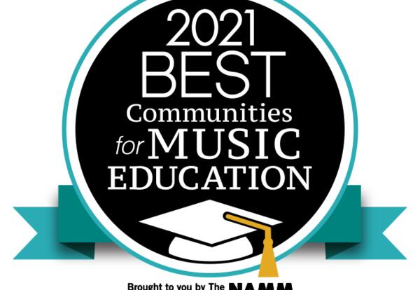 NAMM Best Communities for Music Education logo
