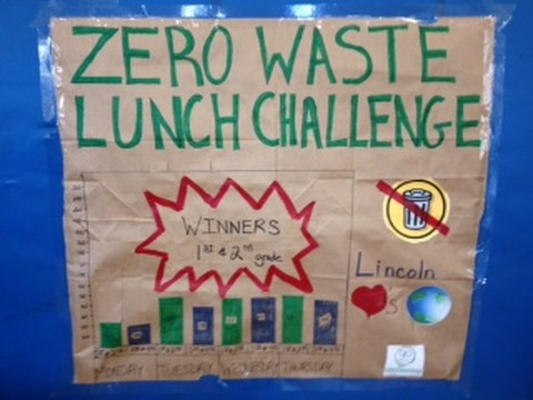 Zero Waste Lunch Challenge Poster
