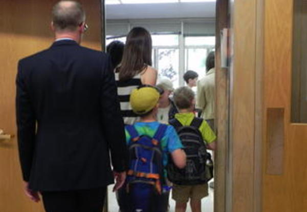District 90 Welcomes Students to the First Day of School