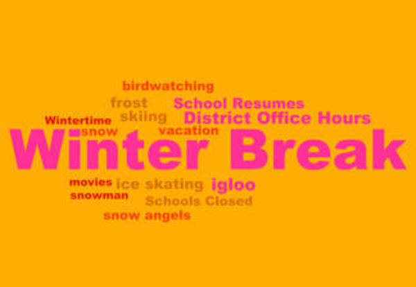 District 90's Winter Break Hours