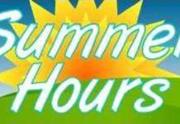 District 90 Summer Hours