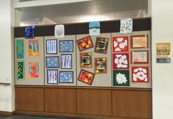 Student Artwork on Exhibit at River Forest Public Library