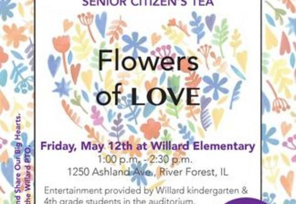 Willard Hosts Big Hearts Little Hands 29th Senior Citizen's Tea