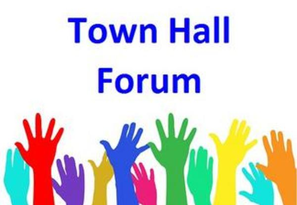 You're Invited to a Town Hall Forum!