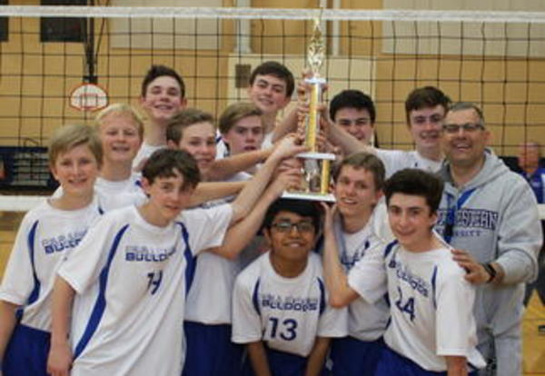 Roosevelt Bulldogs Finish Boys Volleyball Season in 2nd Place