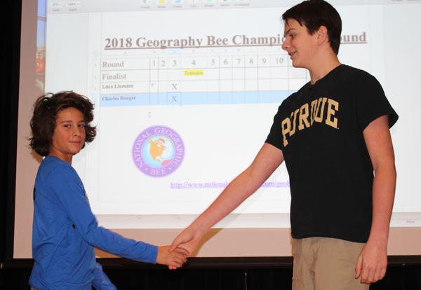 Roosevelt's Geographic Bee Winner Advances to Next Level
