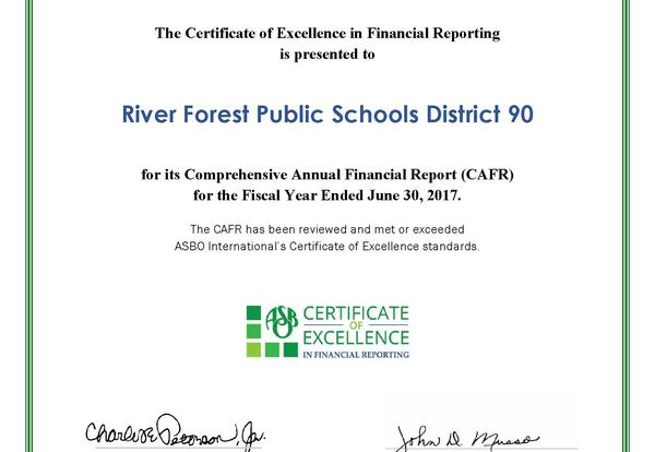 D90 Recognized for 25 Years of Sound Fiscal Stewardship