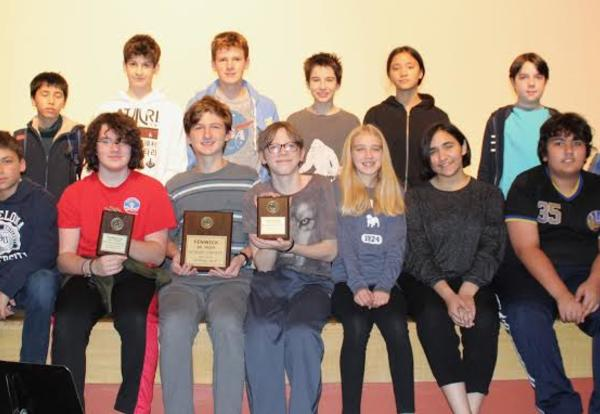 Bulldogs Win Fenwick Science Contest (revised)