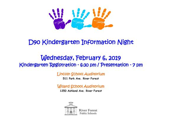 Kindergarten Registration Starts Soon