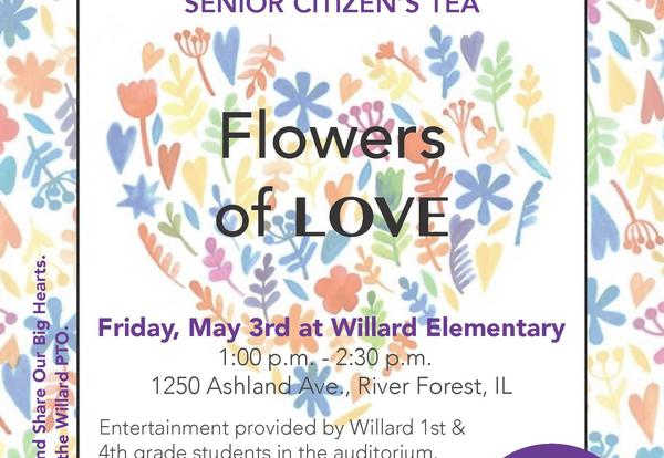 Willard Hosts Big Hearts Little Hands Senior Citizens' Tea