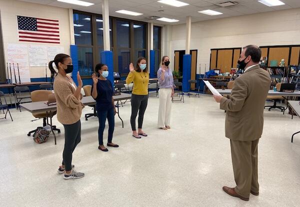 Board of Education Members Sworn-In