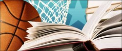 Basketball and a book