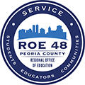 ROE48 of Peoria County seal