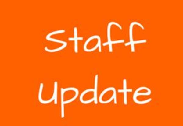 Fall/Winter 2016 Staff Update