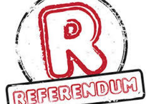 PUBLIC NOTICE - REFERENDUM EXCEPTIONS