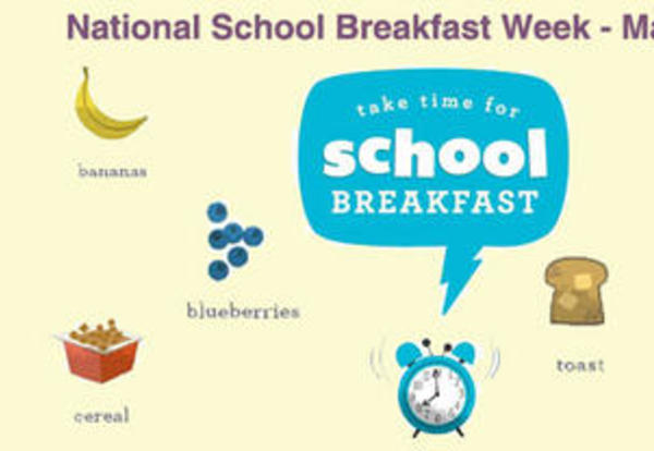 National School Breakfast Week March 3-7, 2014