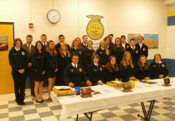 FFA Banquet and Press Release
