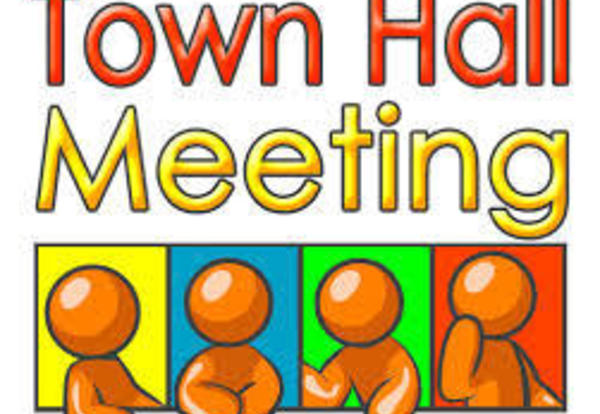 Town Hall Meetings in June