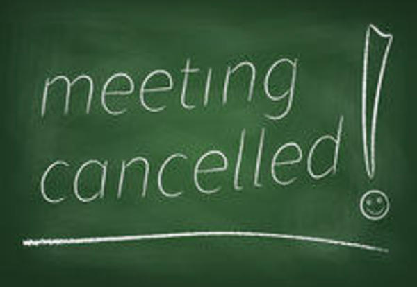 The Finance Committee Meeting scheduled on June 1, 2016 is Cancelled.