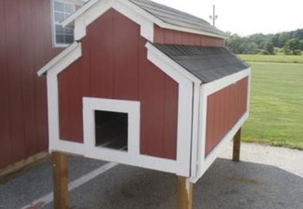 Storage Sheds and Chicken Coop for Sale