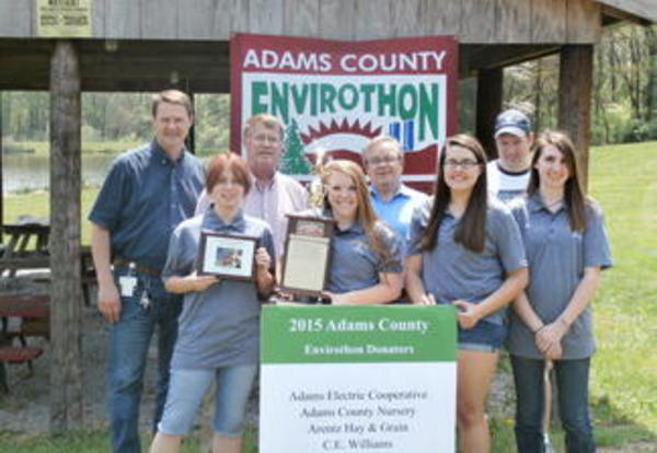Littlestown Wins County Environthon for the 19th Consecutive Year!