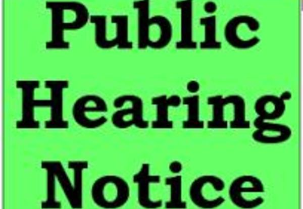 Notification of Board Public Hearing to Close Rolling Acres