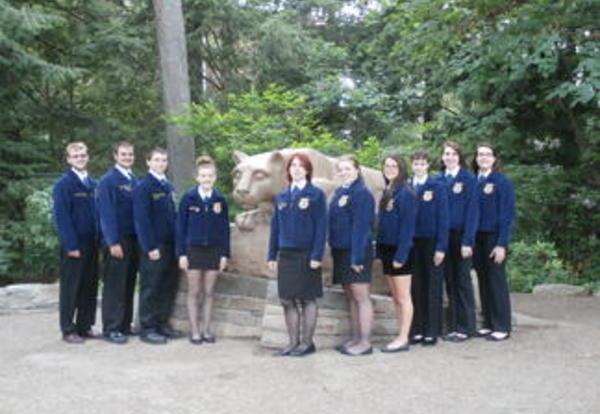 Littlestown FFA Takes Home Two State Championships!