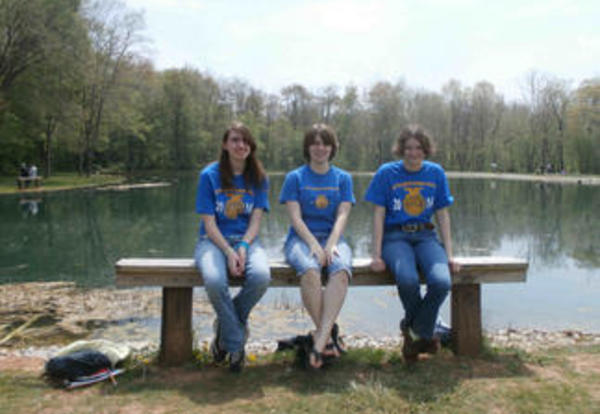 FFA Team took first place in Adams County Envirothon!