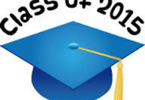 Graduation for Seniors Is June 5, 2015!