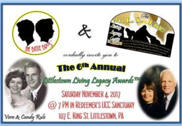 Vern and Candy Rule honored at this year's Littlestown Living Legacy Awards!