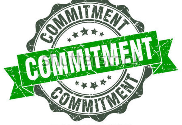 January Core  Value is COMMITMENT