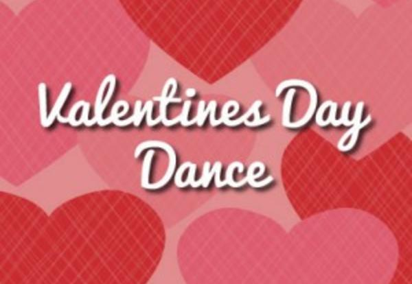 Valentine's Semi Formal Dance  February 9, 6-8 pm