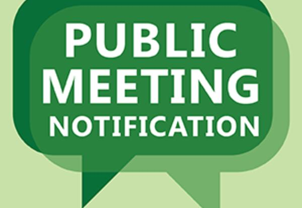 Notification of  Finance Committee Meeting and Regular Board Meeting on Monday,December 10, 2018