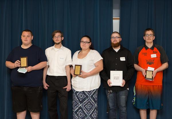 Senior Self Improvement Award Winners!